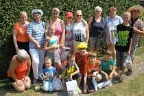 Den dětí v zahrádkářské kolonii U Tří dubů v Teplicích.