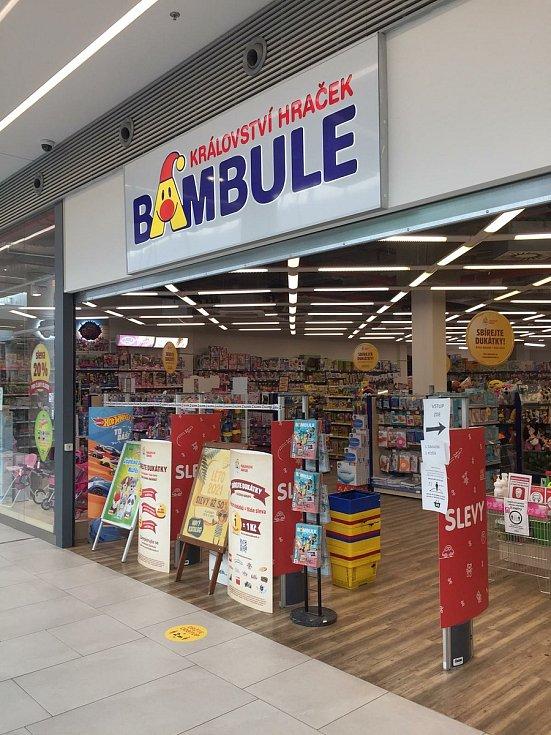 Otevření obchodů na Teplicku.