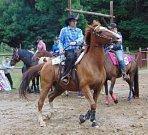 Příznivci westernového ježdění si přišli na své v sobotu v Přítkově na Ranči Severní hvězda.