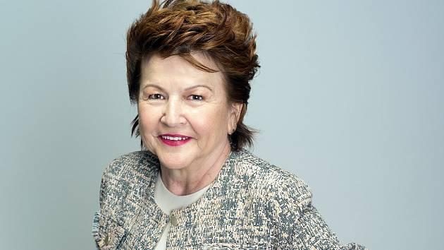 Alena Ihnatišínová po proměně.