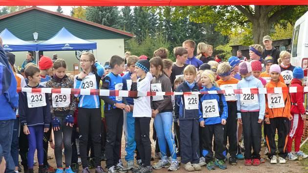 Start závodu na 2,5 km