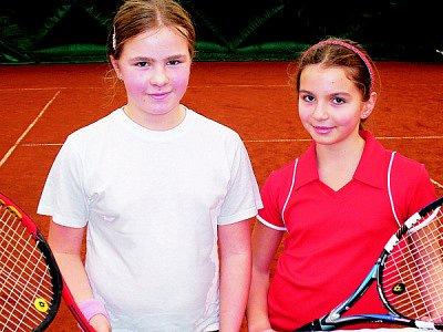 Úspěšné mladé tenistky