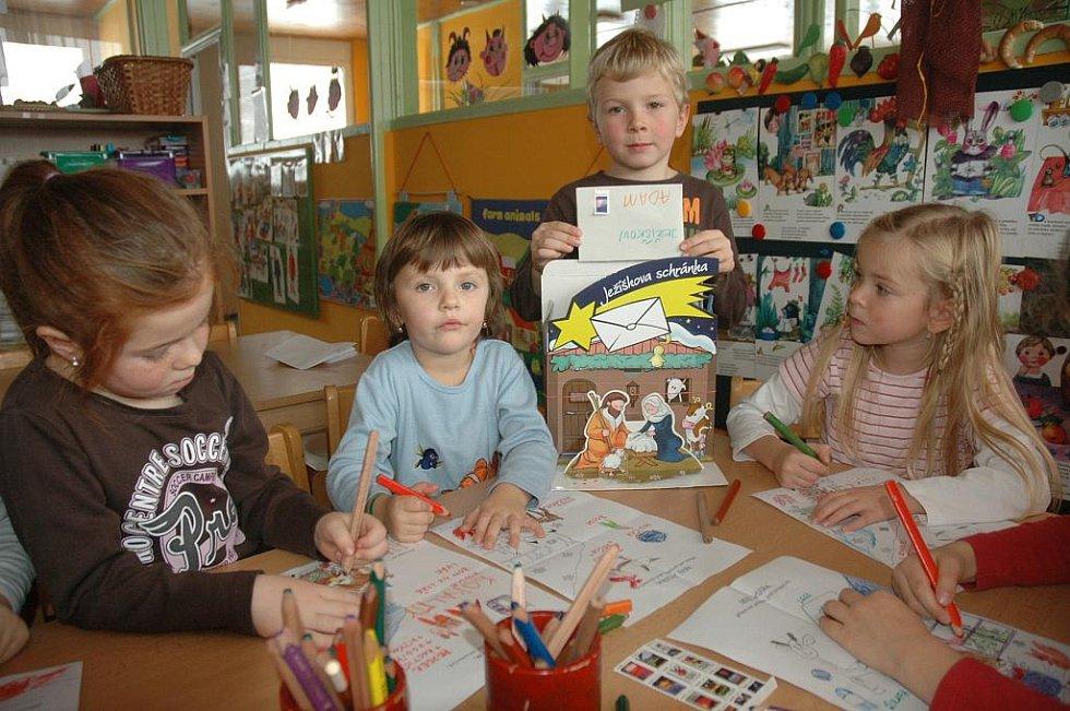 Děti v Mateřské škole F. Šrámka v Teplicích
