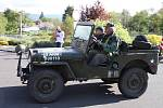 Teplickem1. května projela spanilá jízda veteránů.