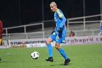 Tomáš Kučera v dresu FK Teplice