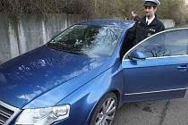 Rychlé policejní vozy Volkswagen Passat R 36