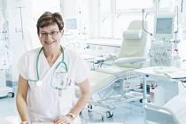 Vedoucí lékařka Marie Studenovská