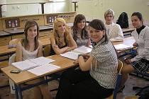Utilitární zkoušky na Gymnáziu v Dubí