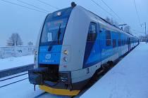 Vlaky po dobu zásahu na trati Teplice - Krupka-Bohosudov projížděly sníženou rychlostí.