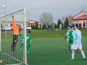 V posledním zápase podzimní části krajského přeboru prohrál Sokol Srbice doma se Slavojem Žatec 3:4.
