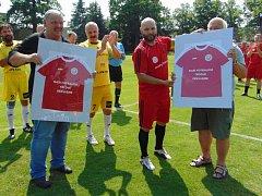 Proboštovské fotbalové legendy vzpomínaly na zlaté časy.