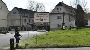 Videoohláška z obce Světec.