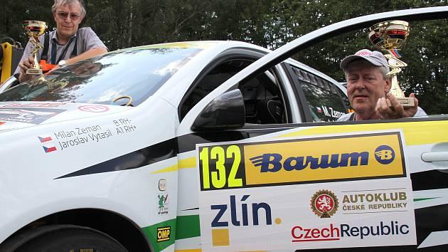 Jaroslav Vytasil a Milan Zeman, rallye posádka z Teplic.