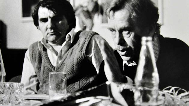 Václav Havel v Teplicích