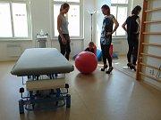 Nové Centrum sportovní ortopedie a medicíny v Teplicích.