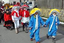 Masopustní veselici si užívali v sobotu v Červeném Újezdu