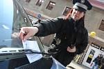 Bílinští strážníci měli bezpečnostní akci