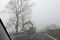 Nehoda v Soběchlebech.