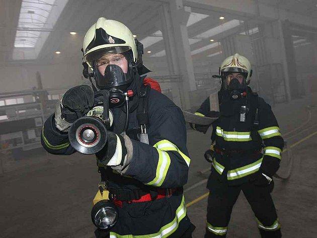 Cvičení hasičů/ilustrační foto