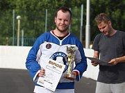Hokejbalový turnaj v Krupce - Kladno