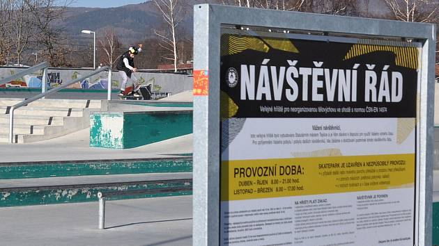 Skatepark na Angru v Teplicích.