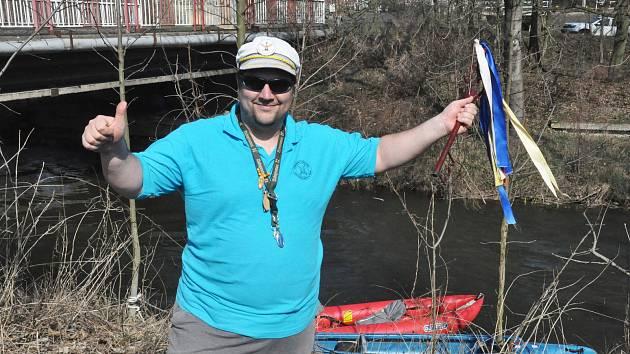 Vodáci, odemykání řeky Bíliny 2019 se Standou Galíkem