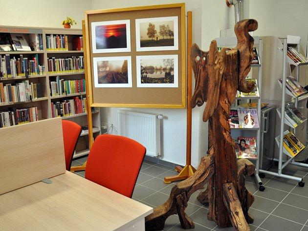 Hájská obecní knihovna získala nové prostory.