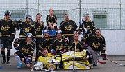 Hokejbalový turnaj v Krupce - tým Krupky