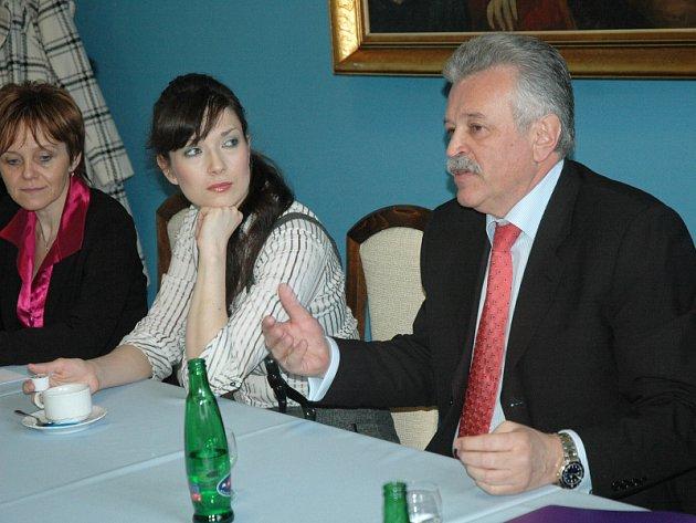 Z tiskové konference Lázní Teplice v Čechách a.s.