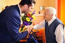 Jubilantka Marie Machová oslavila 102 let.