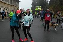 Jarní moldavský půlmaraton.