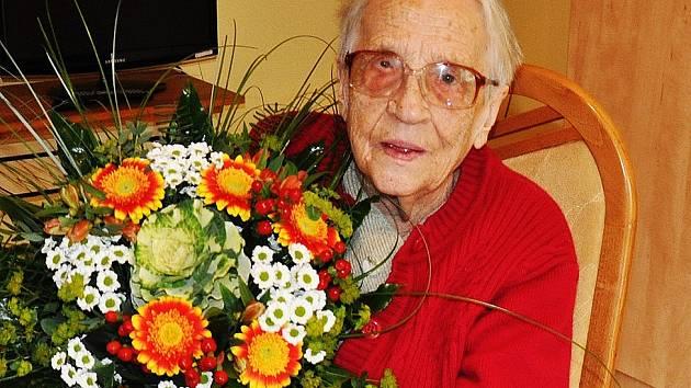Cecilie Havlenová oslavila své 95. narozeniny