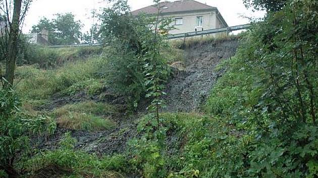 Velká voda (7. 8. 2010) na Teplicku