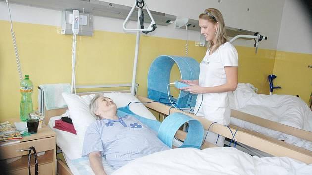 Nová lůžková část na LDN rehabilitace v nemocnici Bílina