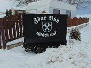 Důlní vozík ve Fojtovicích.