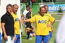 Přemysl Bičovský, fotbalový internacionál.