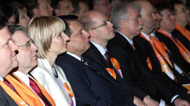 Konference ČSSD v Teplicích