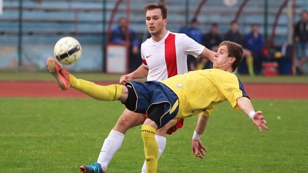 TJ Krupka - FK Louny (žluté dresy)