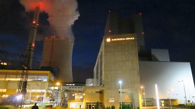 Elektrárna Ledvice.