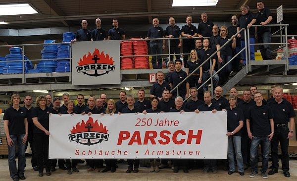 Výročí firmy Parsch.