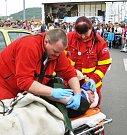Záchranáři se představili v akci už potřinácté
