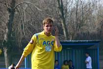 Jakub Rosocha ještě v dresu FK Teplice B na jaře 2009