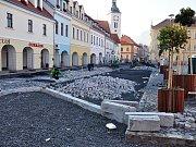 Rekonstrukce náměstí v Bílině
