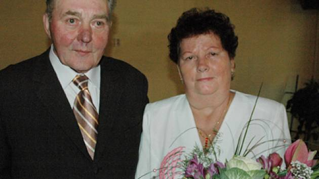Zlatá svatba manželů Němečkových