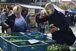 Farmářské trhy v Teplicích se opět rozjely.