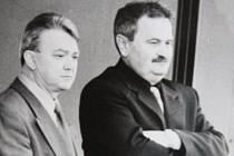 Štěpán Popovič a František Hrdlička