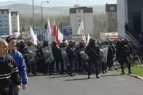 Pochod DSSS v Krupce, 9. dubna 2011