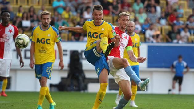 Zápas 2. kola FK Teplice - SK Slavia Praha