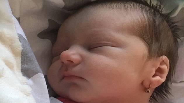 Viktorie Tišerová se narodila Tereze Rehnové v teplické porodnici 12. února v 17:21. Vážila 2,85 kg a měřila 48 cm.