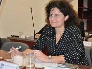Z ustavujícího zastupitelstva v Bílině, místostarostka Marcela Dvořáková.